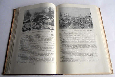 1950/54 P.SYTIN Russia MOSCOW History of Planning & Building Books 2 Volumes 12