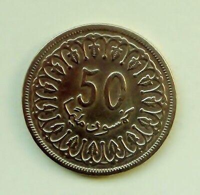 Tunesien     50 Milliemes 1960