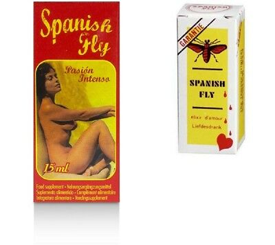 Spanische Fliege Stark Aphrodisiaka Spanish Fly Passion Intenso Lustmittel Drops