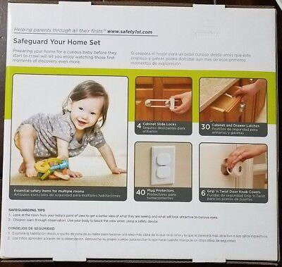 Safety 1 Home Safeguarding Set (80 Pcs), White 2