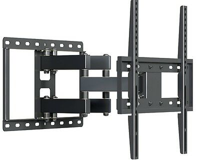 Full Motion Articulating TV Wall Mount LED LCD Plasma 32 37 39 42 46 48 50 55 65 3