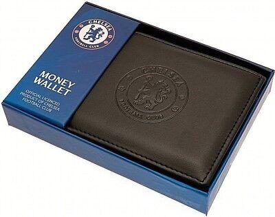 Debossed Crest Leather Football Club Sports Team Money Card Wallet Purse 10