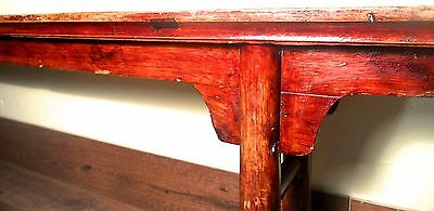 Antique Chinese Ming Bench (3273), Cypress Wood, Circa 1800-1849 2
