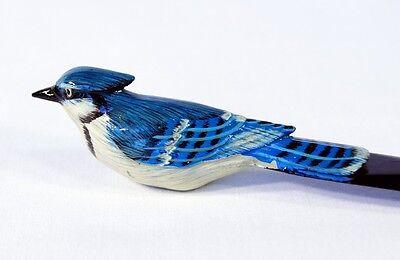 Hand Painted Blue Jay Bluejay Bird Letter Opener B116B