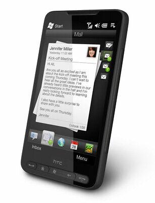 HTC HD2 Leo - Black (Unlocked) GSM 3G WiFi Windows Mobile Touch Smartphone 5