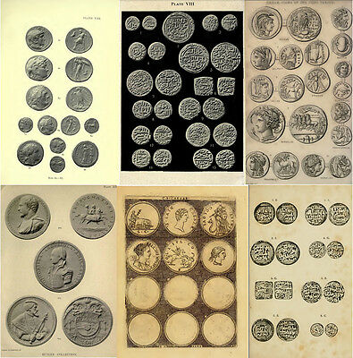 250 Rare Books On Numismatics & Coins, Ancient, Greek, Roman, Islamic On Dvd 7