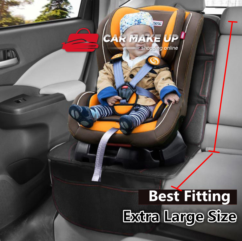 Extra Large Car Baby Seat Protector Cover Cushion Anti-Slip Waterproof Safety 3