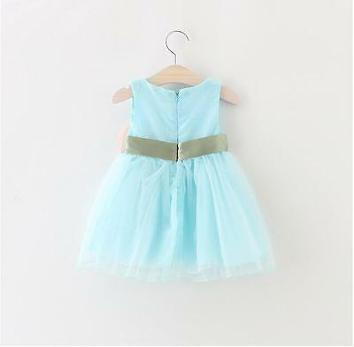 TODDLER INFANT KIDS Baby Girls Summer Dress Princess Party Wedding ...