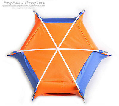 Portable Pet Tent Puppy Dog Pet Cat Outdoor Camping Sun Shelter Waterproof House 9