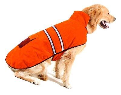 Reflective Fleece warm pet DOG Coat Winter Jacket Clothes Sweater 4