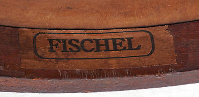 Art Nouveau Child Chair Fichel Bentwood Print Seating Factory Label 8