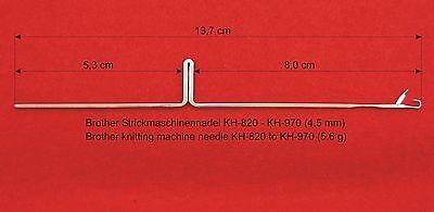 50x KH891 Nadel Brother Strickmaschine Knittingmachine needles вязальная машина 2