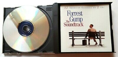 Forrest Gump The Soundtrack 32 American Classics on 2 CD's 1994 Sony 4