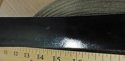 1.25 x 10 Black melamine polyester edgebanding 1-1//4 x 120 no adhesive