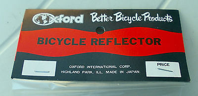 "Bicycle Reflector ""OXFORD"" Cat Eye RR- 250,75mm dia NEW Vintage Retro Bike"