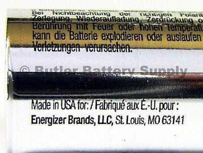 12 x CR123 Energizer 3V Lithium Batteries (CR123A, DL123, 123, EL123, CR17345) 3