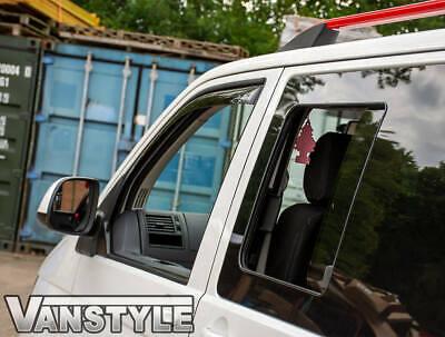 VW T6 TRANSPORTER 2015/> LEFT /& RIGHT SIDE DARK TINT SINGLE SLIDING WINDOW GLASS