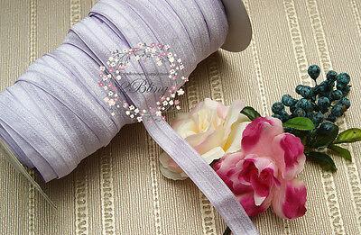 5 or 50 m FOE Fold Over Elastic trim DIY Baby Headband Kit Craft Sew BULK