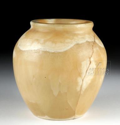 Impressive Egyptian Alabaster Vessel, ex-Bonhams Lot 5