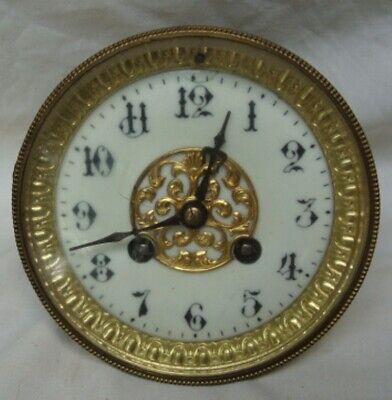 An Attractive 19Th Century, Japy Freres, Ormolu Mantel Clock. 7