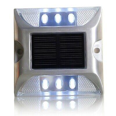 Pezzi 1-10 X farretto segnapasso piasterella luce spot alimentazione solare LED