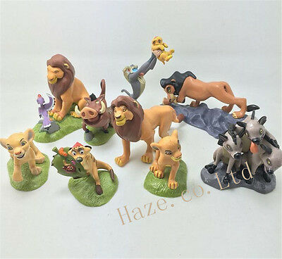 The Lion King Figures Collection Movie Simba Toy Doll 9pcs/set Cake Topper A++