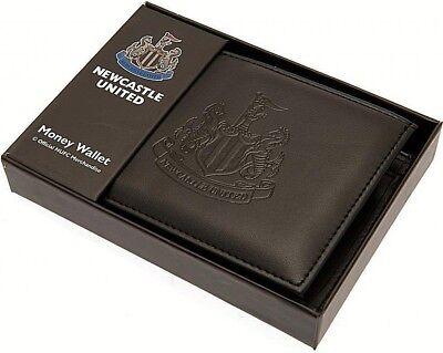 Debossed Crest Leather Football Club Sports Team Money Card Wallet Purse 12