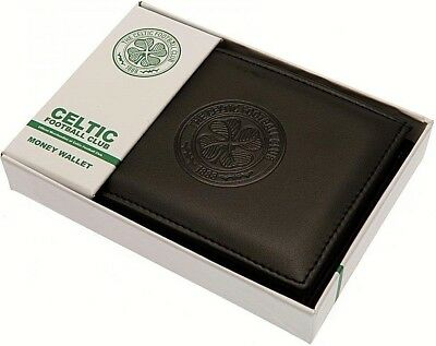 Debossed Crest Leather Football Club Sports Team Money Card Wallet Purse 6