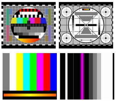 TV Test Card / Video Pattern Generator & Test Tones DVD: AV Systems PAL &  NTSC 2