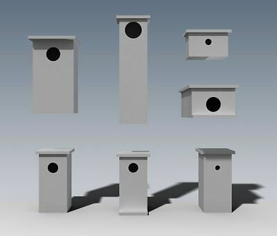 (BUILDING PLANS) for POSSUM BOX - ROSELLA - BIRD BOXES / HOUSE- & MORE - SAVE $$ 2