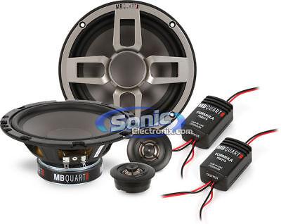 "Pair MB Quart ZC1-216 6.5/"" 240w Car Componet Speakers w//Titanium Dome Tweeters"