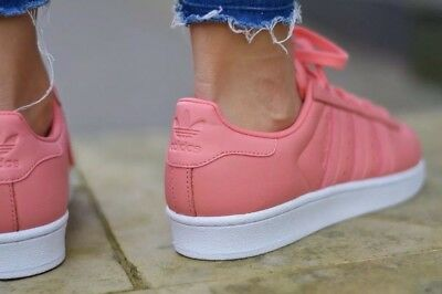 new concept ee042 0f6f6 ... 1711 Adidas Originals Superstar By9750 Metal Toe Rose Women s Sneakers  Shoes 4