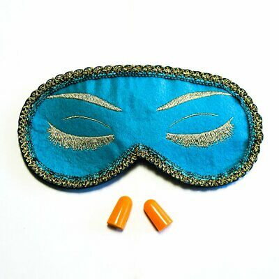 18003aa05f2ba TEAL BREAKFAST AT Tiffany's Eye Mask Holly Golightly Sleep Mask Audrey  Hepburn