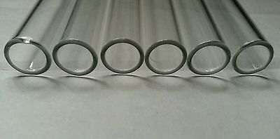 "4"" Glass Pyrex Blowing 5 Tubes 10mm OD 8mm ID Tubing 1mm Wall COE 33 3"