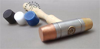 Prestige Nylon Messing /& Faser Holzhammer 3 In 1 Schmuck Herstellung Basteln