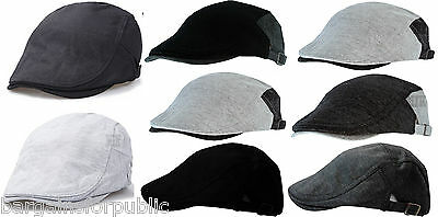 3 of 4 New Men Golf Celebrity Designer Beret Style Gatsby Adjustable Size Flat  Cap Hat aa38e11fef2