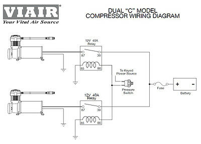 VIAIR 480 DUAL Pack Compressors CHROME Air Bag Suspension Off Road on