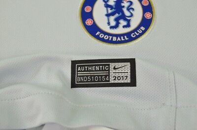 The Blues 2019-2018 NIKE Chelsea FC Away Shirt Football Jersey  SIZE S (adults) 10