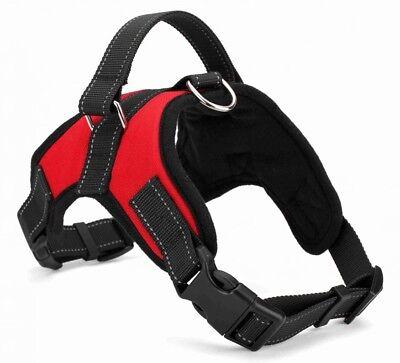 No Pull Adjustable Dog Pet Vest Harness Quality Nylon Small Medium Large XL XXL 2