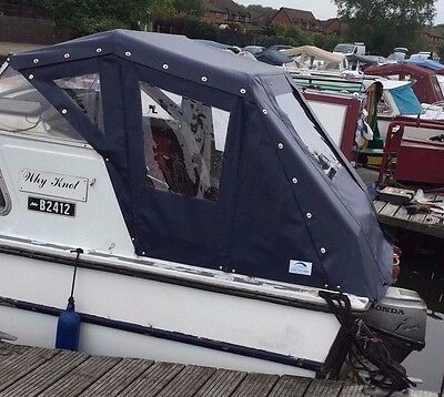 6 of 10 Boat cover Canal Cruiser Canopy Tailor-Made Birchwood Freeman Dawncraft & BOAT cover Canal Cruiser Canopy Tailor-Made Birchwood Freeman ...