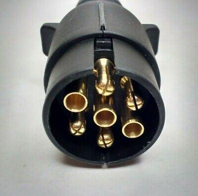 7 Pin Trailer Plug & Socket Plastic 12V 12N Towing Car Van Maypole MP23B & MP21B 8