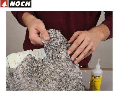 """NOCH 60304 Knitterfelsen /""""SANDSTEIN/"""" 45x25,5 cm  Neu//Ovp"""