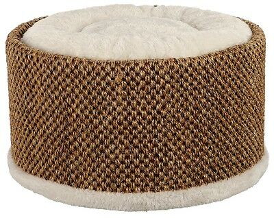 Lio Luxury Cuddly Cat Bed With Sisal Scratch Surface 2