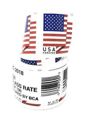 USPS Flag Forever Coil of 100 Postage Stamps, Stamp Design May Vary (SEALED) 2