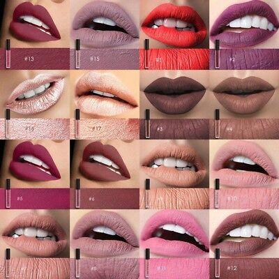 FOCALLURE 25 Colors Long Lasting Waterproof Matte Lipstick Liquid Gloss Cosmetic 3