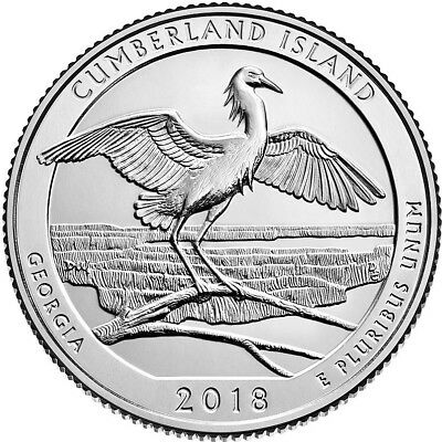 "2018 P&D Receive All 10 National Parks ATB ""Brilliant Uncirculated"" Quarters 5"