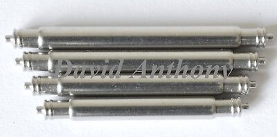 """2.5mm EX EXTRA THICK """"FAT BOY"""" WATCH SPRING BARS/PINS 18mm, 20mm, 22mm, 24mm 3"""