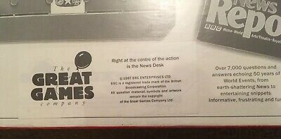 """Vintage New Sealed Board Game """"The News From The BBC""""  Great Games Company 1987 3"""