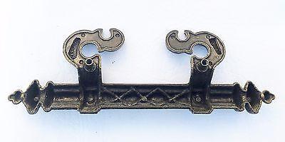 "Art & Craft Gothic Drawer Pull Vintage Antique Hardware Trunk 3 1/2""  on center 5"