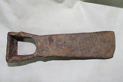 Antique Roman Big Iron Digging Hoe 6